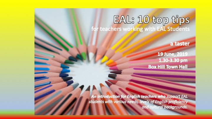 10 tips for working with EAL students