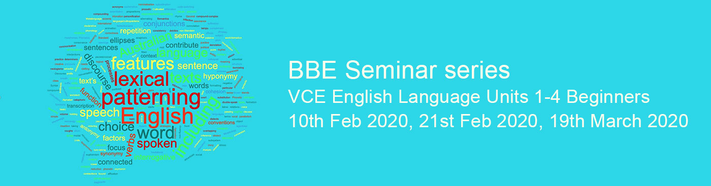 Teaching VCE English Language - Beginners