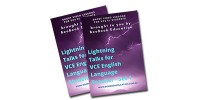 Lightning Talks for VCE English Language - Set 1